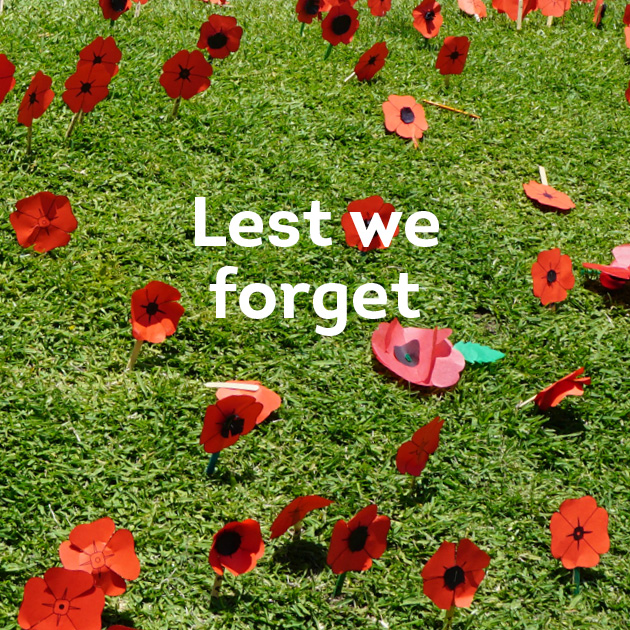 Lest we forget News Term 4
