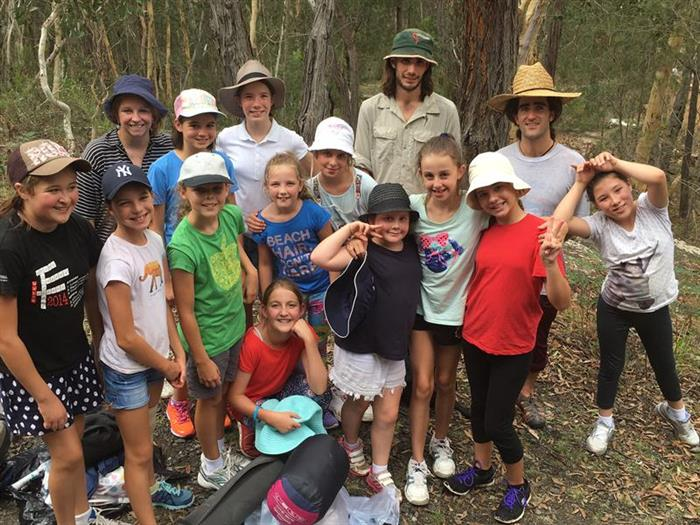 Group Problem Solving at Year 6 Camp Article