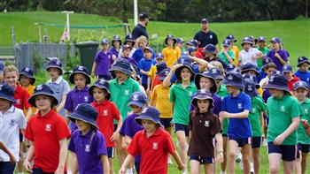 Junior School Cross Country Carnival 12