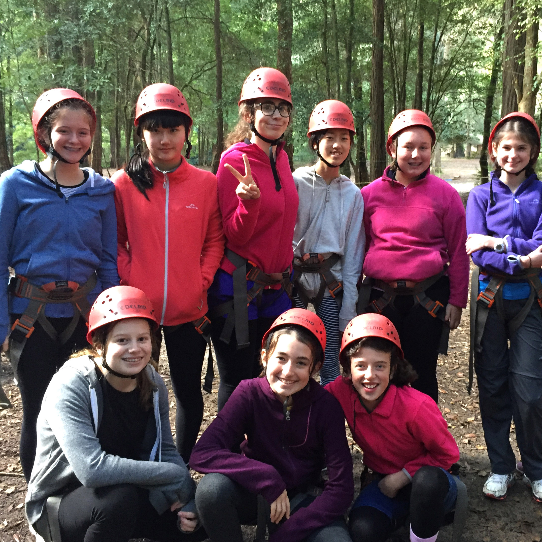 Year 8 camp 2017 t