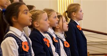 ANZAC assembly Junior School 2