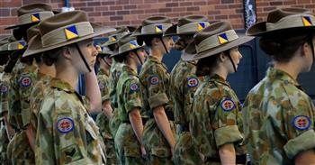 ANZAC assembly Senior School 2