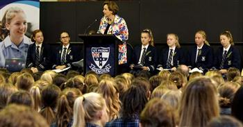 ANZAC assembly Senior School 3