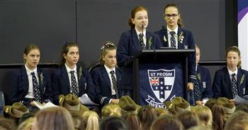 ANZAC assembly Senior School 4